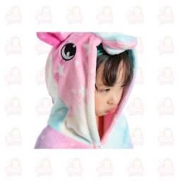 Título do anúncio: Pijama de unicórnio pelúcia infantil