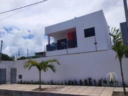 Título do anúncio: Casa nova no Quadramares, 130 m², vagas para 3 carros, sala 2 ambientes, wc social, 3 quar