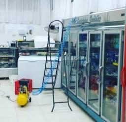 Manutenção em Equipamentos de Refrigeração e Panificação