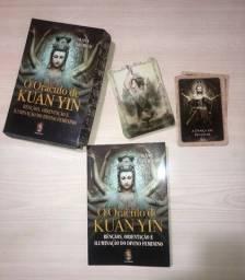 Título do anúncio:  Oraculo  de Kuan Yin  44 cartas + Livro