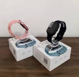 Smartwatch Relógio inteligente Colmi P8 com película - novo na caixa