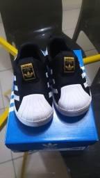 Título do anúncio: Tênis slip-on Adidas infantil