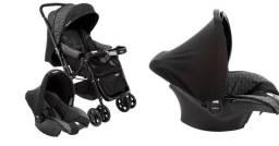 Carrinho de bebê Cosco Reverse + bebê conforto