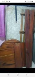 Cama solteiro madeira