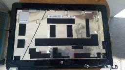Título do anúncio: Chassi Base Da Tela Notebook G42 Prata (completo) - 072