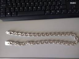Cordão de prata Top!