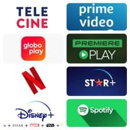 Título do anúncio: Globo Play Disney Plus Netflix