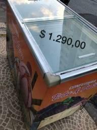 Título do anúncio: Vendo freezer tapa de vidro garantia de 3meses
