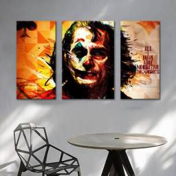 Título do anúncio: Conjunto Quadros Decorativos/Placas Decorativas - Coringa 90x42