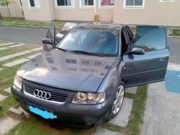 Título do anúncio: vendo / troco Audi A 3  1.8 8v   2* dono completo,  revisado , quitado manual 1* de luxo