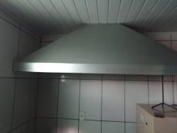 Fogão Industrial com forno e coifa Venâncio