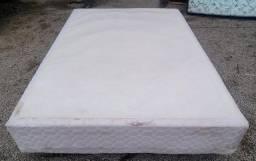 Título do anúncio: Base de cama box de casal, branca.