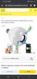 <br><br>Lampada Musical Caixa Som Bluetooth