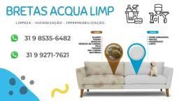 Limpeza sofás (Excelência em Qualidade)impermeabilização de sofás