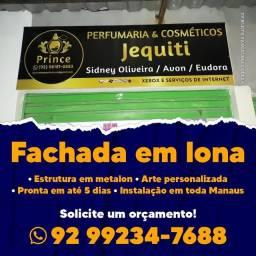 Título do anúncio: Fachada, banner, adesivo, cavalete e muito mais