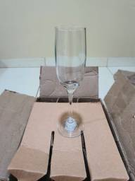 12 taças de champagne imperatriz (nadir)