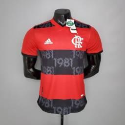 Camisa Authentic Cr Flamengo Modelo Jogador 21/22