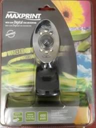 Webcam Maxprint com Microfone