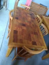 Mesas se madeira rustica