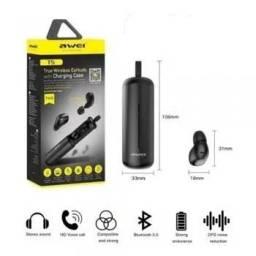 Título do anúncio: Fone Bluetooth awei t5 TWS auricular