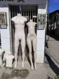 Estou vendendo alguns manequins usando Seminovos