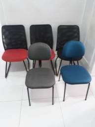 Vendo 6 cadeiras para sala de espera ou escritorios