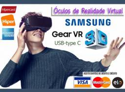 Óculos 3D Samsung Gear VR 360 Graus p/ Samsung Galaxy S e Note USB, Novo, Caixa, NF, Gar!