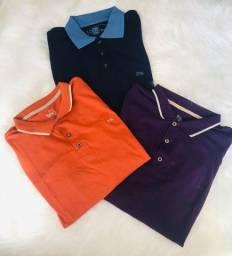 Título do anúncio: Combo 3 Camisetas Polos M - TNG NOVAS