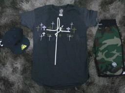 Camisas long 15 reas atacado