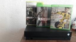Xbox one x troco ps4 slim e xbox one s