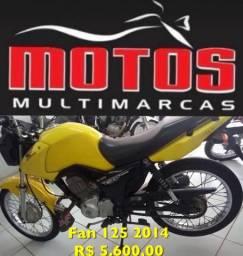 Temos varias marcas e modelos de moto. - 2014