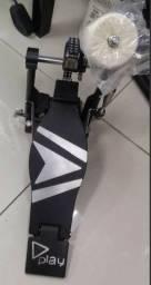 Pedal Play De Bumbo De Bateria Turbo Frete Grátis!