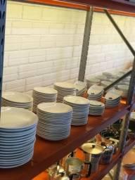 Pratos porcelana para restaurante