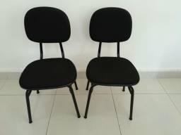 2 cadeiras fixas