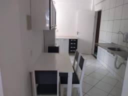 Alugo apartamento 3/4 semi mobiliado em emaus com area de lazer