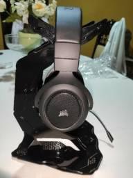 Headset Corsair Hs70 Wir. Gaming 7.1 Surround Carbon Novo