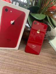 IPhone 8 64Gb Red - IMPECÁVEL - COMPLETO