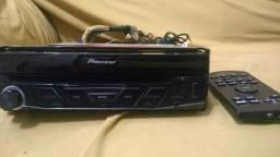 Dvd Retrátil Automotivo Pioneer AVH-3880