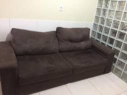 Sofá retratio reclinável