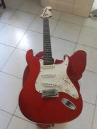 Guitarra tagima serie especial assinada pelo tagima