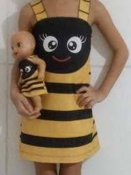 Mãe e filha kids 40,00 TAM 6