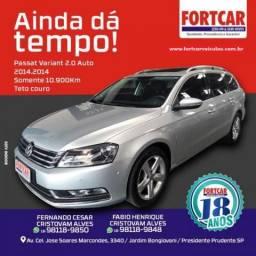 Volkswagen passat variant 2014 2.0 tsi 16v 211cv gasolina 4p automÁtico - 2014