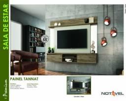 Painel com espelho para TV de até 55 polegadas preço fabrica