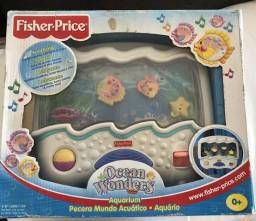 Acessório Fischer- Price para berço de bebê- Ocean Wonders