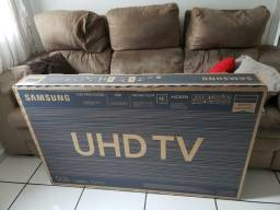 "Tv Samsung 4K 50"" Ultra hd Ru7100 Wifi, Quad-core Bluetooth (Lacrada)01 Ano Carantia"