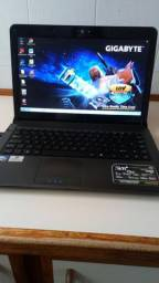 Vendo notebook positivo, hd 160gb, memoria 2gb, tela 14, bateria dura 40 minutos