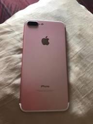 IPhone 7 Plus rose perfeito