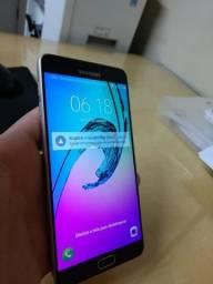 Samsung A9 Dourado - Tela de 6 - Aparelho Novissimo Sem Marcas-Porém o Touch Screen Parou