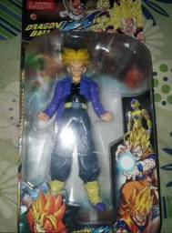 Boneco Dragon Ball Z Trunks SSJ 25 cm