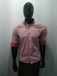 Camisa Social Garbo Collection Slim Fit Original Seminova b2d85add035cf